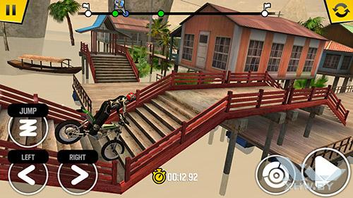 Игра Trial Xtreme 4 на Sony Xperia M5