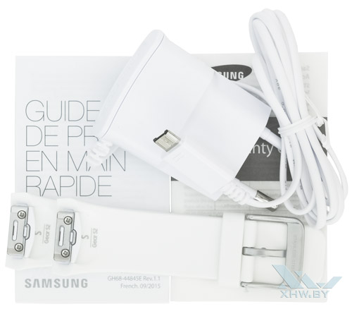 Комплектация Samsung Gear S2