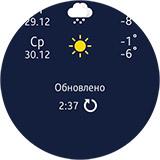 Погода на Samsung Gear S2. Рис. 5