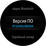 Настройки Samsung Gear S2. Рис. 13