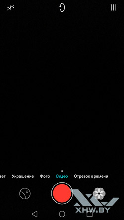Режим съемки видео Huawei Mate 8