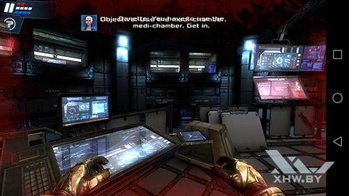 Игра Dead Effect 2 на Huawei Mate 8