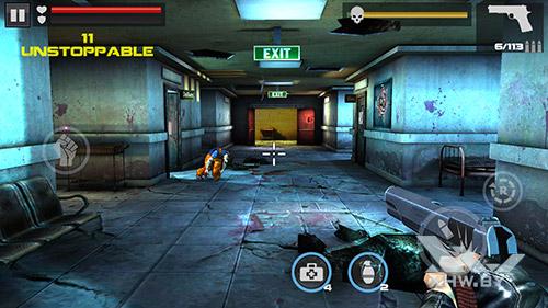 Игра Dead Target на Huawei Mate 8