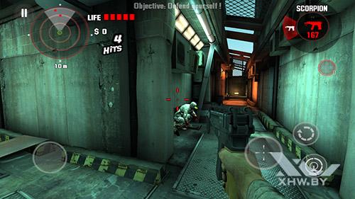 Игра Dead Trigger на Huawei Mate 8