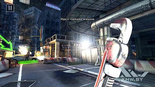 Игра Dead Trigger 2 на Huawei Mate 8