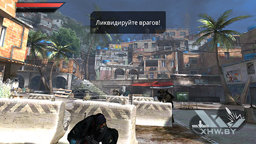 Игра Frontline Commando 2 на Huawei Mate 8