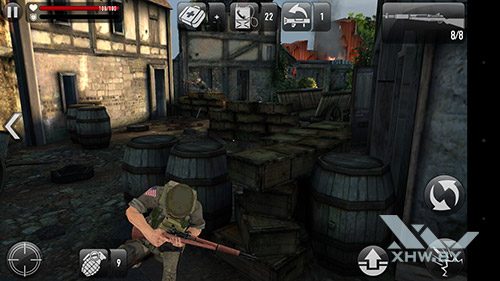 Игра Frontline Commando: Normandy на Huawei Mate 8