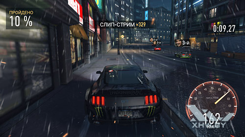 Игра Need For Speed: Most Wanted на Huawei Mate 8