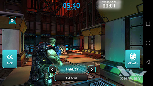 Игра Shadowgun: Dead Zone на Huawei Mate 8