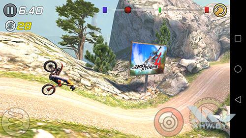 Игра Trial Xtreme 3 на Huawei Mate 8
