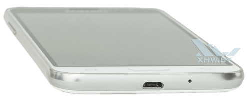 Нижний торец Samsung Galaxy J3 (2016)