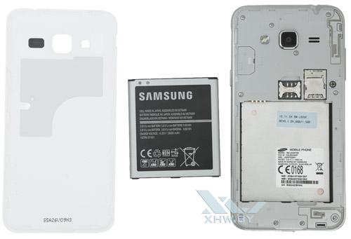 Внутри Samsung Galaxy J3 (2016)