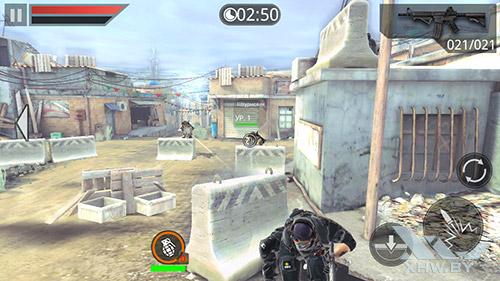 Игра Frontline Commando 2 на Samsung Galaxy J3 (2016)