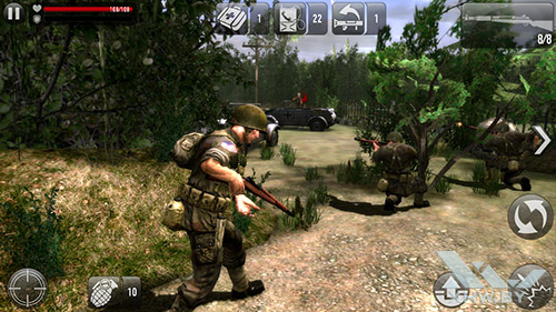 Игра Frontline Commando: Normandy на Samsung Galaxy J3 (2016)