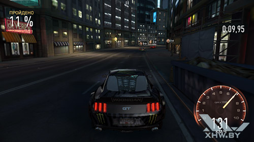 Игра Need For Speed: Most Wanted на Samsung Galaxy J3 (2016)