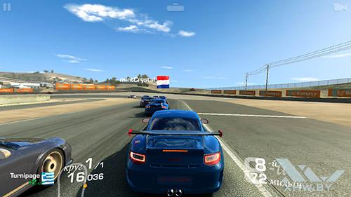 Игра Real Racing 3 на Samsung Galaxy J3 (2016)