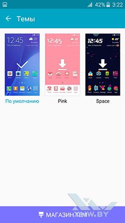 Темы на Samsung Galaxy J3 (2016)