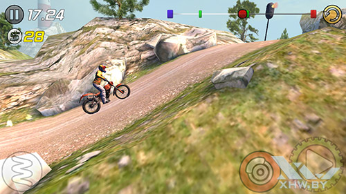 Игра Trial Xtreme 3 на Samsung Galaxy J3 (2016)