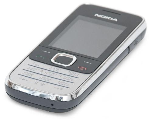 Нижний торец Nokia 2730 classic