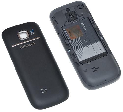 Открытая задняя крышка Nokia 2730 classic