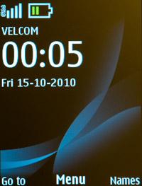 Главный экран Nokia 2730 classic
