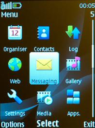 Меню Nokia 2700 classic и Nokia 2730 classic