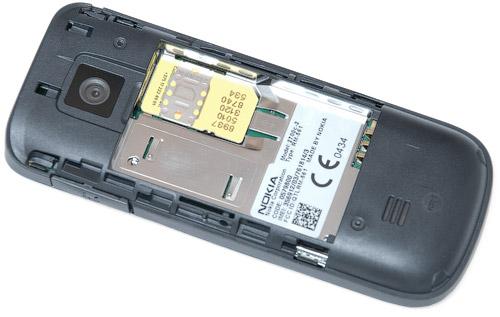 SIM-карта в Nokia 2700 classic