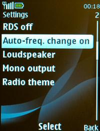 Настройки FM-радио Nokia 2700 classic и Nokia 2730 classic