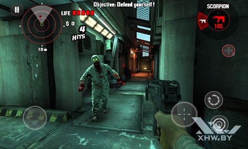 Игра Dead Trigger на Lenovo A1000