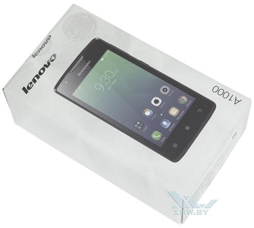 Коробка Lenovo A1000