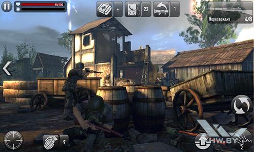 Игра Frontline Commando: Normandy на Lenovo A1000