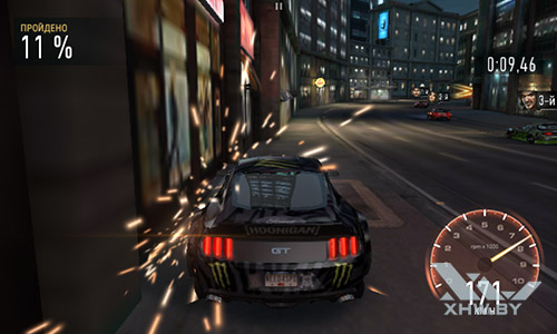 Игра Need For Speed: Most Wanted на Lenovo A1000