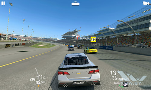 Игра Real Racing 3 на Lenovo A1000