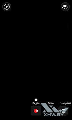 Режим видео камеры Lenovo A1000