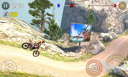 Игра Trial Xtreme 3 на Lenovo A1000