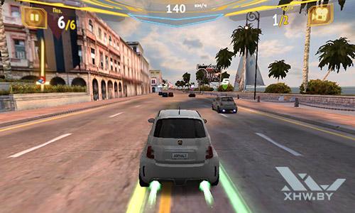 Игра Asphalt 7 на Samsung Galaxy J1 (2016)