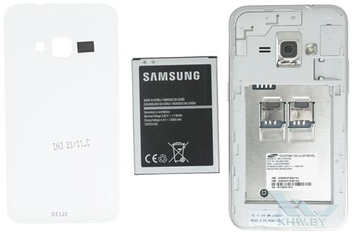 Внутри Samsung Galaxy J1 (2016)