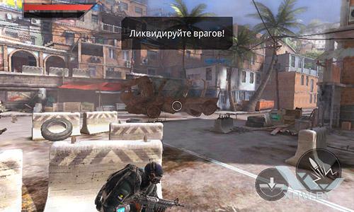 Игра Frontline Commando 2 на Samsung Galaxy J1 (2016)