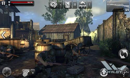 Игра Frontline Commando: Normandy на Samsung Galaxy J1 (2016)