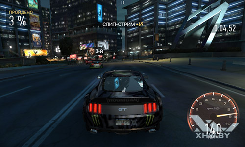 Игра Need For Speed: Most Wanted на Samsung Galaxy J1 (2016)