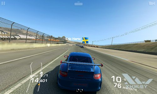 Игра Real Racing 3 на Samsung Galaxy J1 (2016)