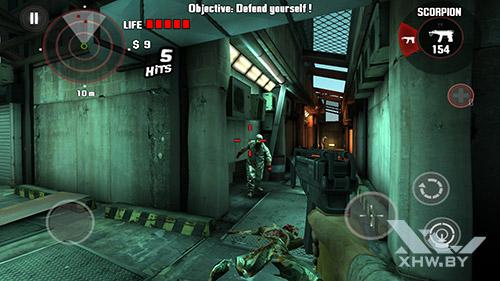 Игра Dead Trigger на Lenovo A7010