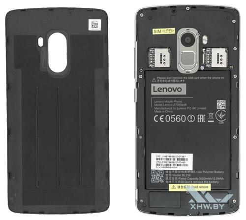 Внутри Lenovo A7010