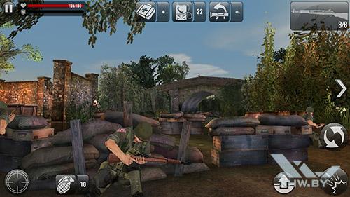 Игра Frontline Commando: Normandy на Lenovo A7010