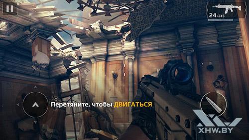 Игра Modern Combat 5 на Lenovo A7010