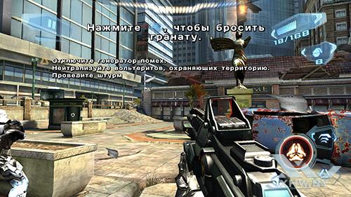 Игра N.O.V.A. 3 на Lenovo A7010