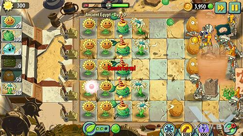 Игра Plants vs Zombies 2 на Lenovo A7010