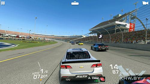 Игра Real Racing 3 на Lenovo A7010