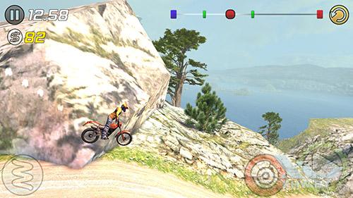 Игра Trial Xtreme 3 на Lenovo A7010