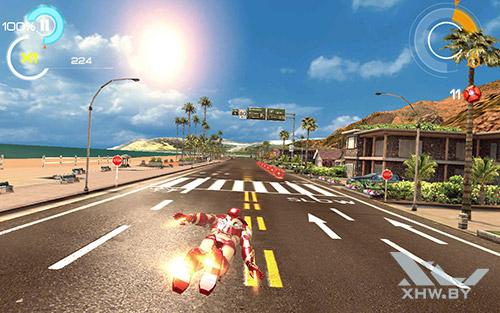 Игра Железный человек 3 на Samsung Galaxy Tab A 7.0 (2016)